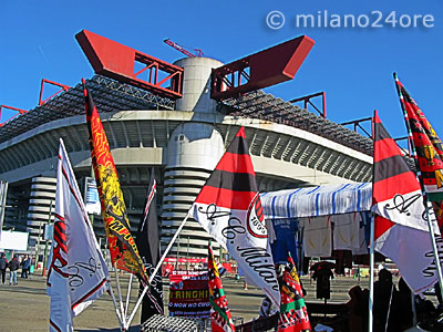 Football Stadium San Siro