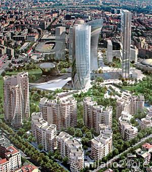 Modern Architecture In Milan The New Skyline