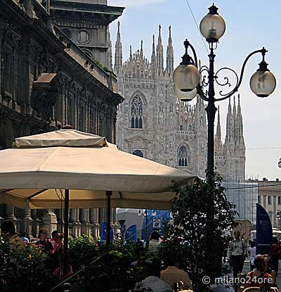Dining with Duomo View