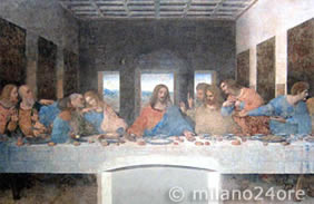 The Last Supper of Leonardo da Vinci