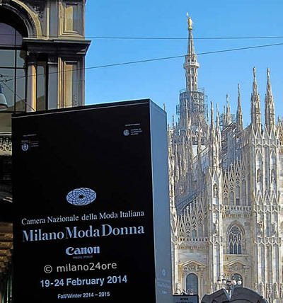 Fashion Week Milan in February and September