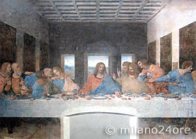 Leonardo da Vinci' Last Supper