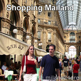 Fashion and shopping paradise Milan