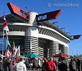 Football Stadium San Siro Milan