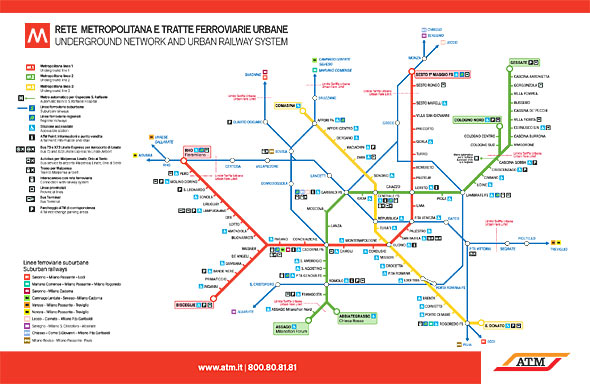 Tickets and prices for Metro and public transport in Milan Milan