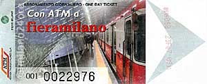 Metro ticket to the new fairgrounds